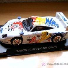 Slot Cars: PORSCHE 911 GT1 EVO DAYTONA 98 ROHR REF-A52 (FLY) DESCATALOGADO!. Lote 27112434