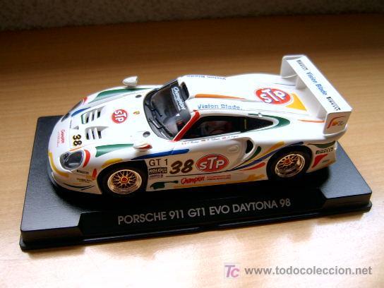 PORSCHE 911 GT1 EVO STP REF-A53 (FLY) DESCATALOGADO! (Juguetes - Slot Cars - Fly)