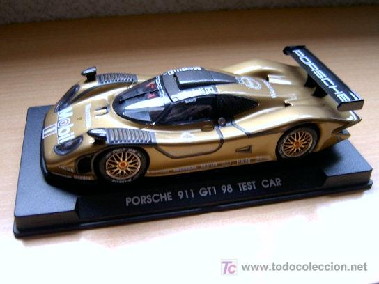 PORSCHE 911 GT1 EVO4 TEST CAR REF-A73 (FLY) DESCATALOGADO! (Juguetes - Slot Cars - Fly)