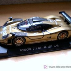 Slot Cars: PORSCHE 911 GT1 EVO4 TEST CAR REF-A73 (FLY) DESCATALOGADO!. Lote 27112432