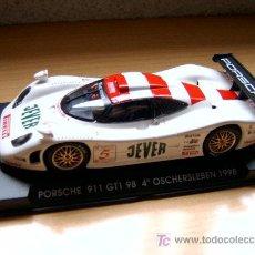 Slot Cars: PORSCHE 911 GT1 EVO4 4º OSCHERSLEBEN REF-A75 (FLY) DESCATALOGADO!. Lote 27112428