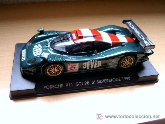 PORSCHE 911 GT1 EVO4 3º SILVERSTONE 98 REF-A74 (FLY) DESCATALOGADO! (Juguetes - Slot Cars - Fly)