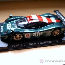 Slot Cars: PORSCHE 911 GT1 EVO4 3º SILVERSTONE 98 REF-A74 (FLY) DESCATALOGADO!. Lote 27112429