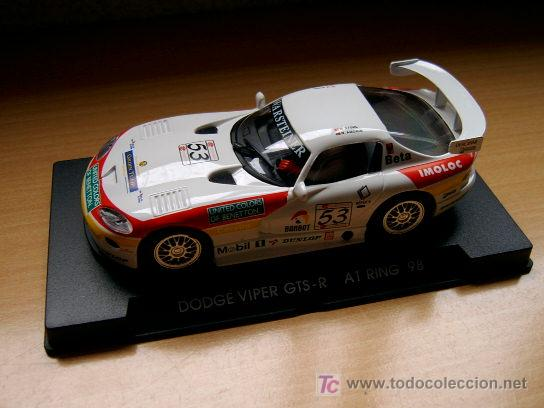 DODGE VIPER GTS-R A1 RING 98 REF A-7 (FLY) DESCATALOGADO! (Juguetes - Slot Cars - Fly)