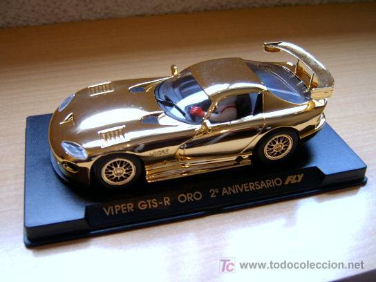 VIPER ORO GTS-R 2º ANIVERSARIO REF E-7 (FLY) DESCATALOGADO! (Juguetes - Slot Cars - Fly)
