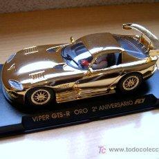 Slot Cars: VIPER ORO GTS-R 2º ANIVERSARIO REF E-7 (FLY) DESCATALOGADO!. Lote 27112430