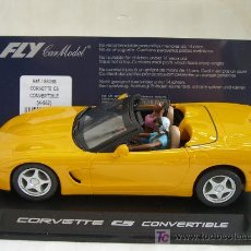 Slot Cars: FLY A562 CORVETTE C5 CONVERTIBLE. Lote 7896208
