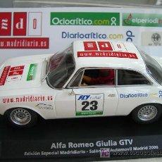 Slot Cars: FLY E802 ALFA ROMEO GIULIA EDICION ESPECIAL MADRIDIARIO. Lote 2182583