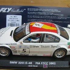 Slot Cars: FLY A622 BMW 320I FIA ETCC 2002. Lote 7920979