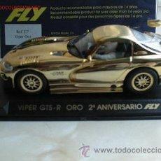 Slot Cars: FLY E27 VIPER GTS-R ORO . Lote 24822318