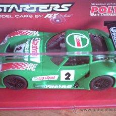 Slot Cars: MARCOS CASTROL VERDE STARTERS DE FLY. Lote 202889227