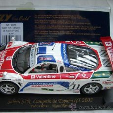 Slot Cars: FLY A266 SALEEN S7R CAMPEON DE ESPAÑA GT 2002. Lote 22990498