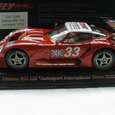 Slot Cars: FLY MARCOS 600 LM AUTOSPORT Nº 33. Lote 11222531