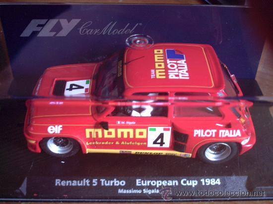 88188 - RENAULT 5 TURBO MOMO DE FLY (Juguetes - Slot Cars - Fly)