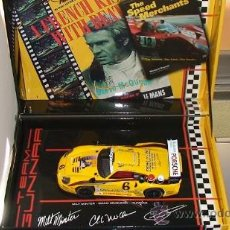 Slot Cars: FLY CARMODEL PORCHE GT1 STEVE MCQUEEN COLLECTION. Lote 23733522