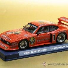 Slot Cars: 96085- FORD CAPRI 10 ANIVERSARIO JAGERMEISTER DE FLY. Lote 38319204