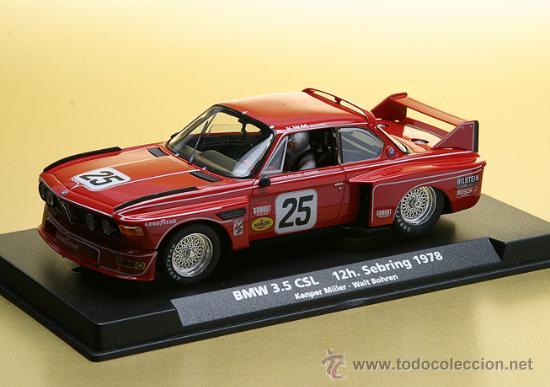88161 - BMW 3,5 CSL ROJO Nº 25 DE FLY (Juguetes - Slot Cars - Fly)