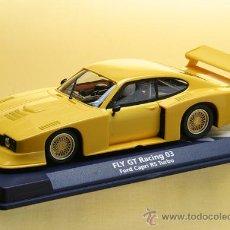 Slot Cars: 07040 - FORD CAPRI AMARILLO RACING DE FLY (DESCATALOGADO). Lote 172824804