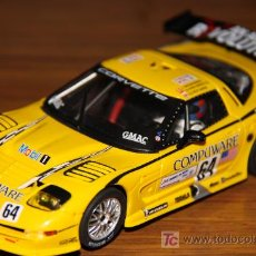 Slot Cars: CORVETTE - FLY - SCALEXTRIC. Lote 19208334