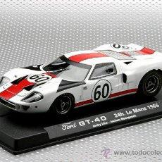 Slot Cars: 88100. FORD GT40 24 HORAS DE LE MANS 66 DE FLY. Lote 87519050