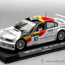 Slot Cars: 88090 .BMW M3 320I TEAM BELGIUM DE FLY. Lote 51004369