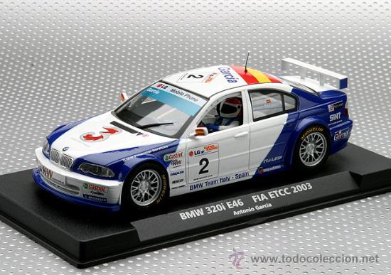 88123 .BMW M3 320I DE ANTONIO GARCIA DE FLY (Juguetes - Slot Cars - Fly)