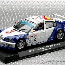 Slot Cars: 88123 .BMW M3 320I DE ANTONIO GARCIA DE FLY. Lote 139573273