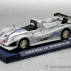 Slot Cars: OFERTA - 07032 - LOLA B98 RACING GRIS DE FLY. Lote 206191398