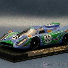 Slot Cars: C-55. PORSCHE 917K MARTINI Nº35 DE FLY. Lote 36552686