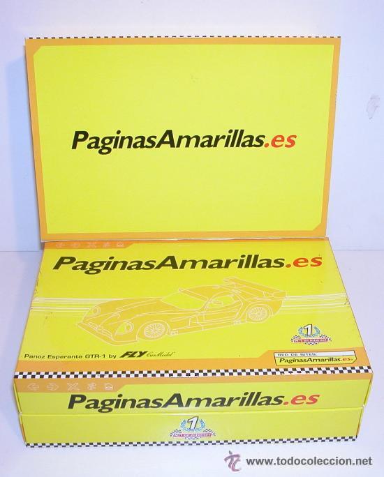 Slot Cars: FLY PANOZ PAGINAS AMARILLAS T7. SERIE NUMERADA. SCALEXTRIC - Foto 2 - 27023944
