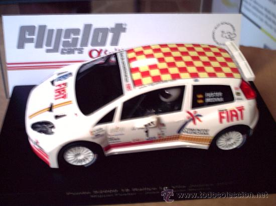 NOVEDAD - FIAT PUNTO S2000 COMUNIDAD VALENCIANA - NUEVO MOLDE DE FLYSLOT (Juguetes - Slot Cars - Fly)