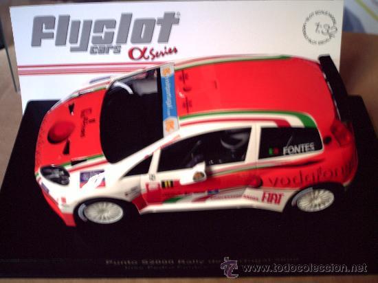 NOVEDAD - FIAT PUNTO S2000 VODAFONE - NUEVO MOLDE DE FLYSLOT (Juguetes - Slot Cars - Fly)