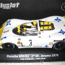 Slot Cars: OFERTA - PORSCHE 908/2 JARAMA 70 DE JORGE DE BAGRATION DE FLYSLOT. Lote 142082361