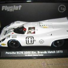 Slot Cars: PORSCHE 917K Nº11 DE VIC ELFORD DE FLYSLOT. Lote 34991585