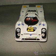 Slot Cars: PORSCHE 917 K DE FLY ESCUDERIA NACIONAL CALVO SOTELO MARTINI , SERIE LIMITADA .. Lote 29656522