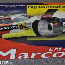 Slot Cars: MARCOS LM600 REPSOL CAMPEONATO DE ESPAÑA GT 2001 DE FLY. Lote 30204720