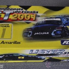 Slot Cars: LISTER STORM PÁGINAS AMARILLAS DE FLY. Lote 30205230
