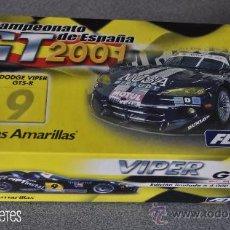 Slot Cars: VIPER GTS-R PÁGINAS AMARILLAS DE FLY. Lote 30205380