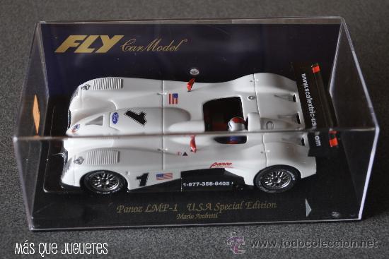 PANOZ LMP-1 EDICIÓN ESPECIAL USA DE FLY (Juguetes - Slot Cars - Fly)