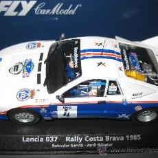Slot Cars: -88257 - LANCIA 037 COSTA BRAVA 1985 DE SERVIA DESCATALOGADO DE FLY. Lote 236445670