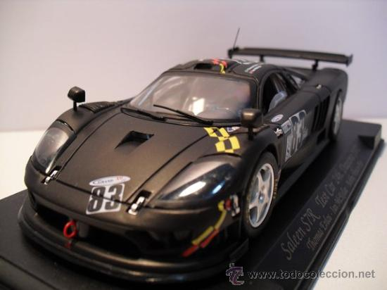 -FLY-SALEEN S7R - TEST CAR 24H - DAYTONA AÑO 2002-NEGRO MATE- (Juguetes - Slot Cars - Fly)
