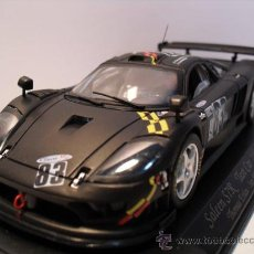 Slot Cars: -FLY-SALEEN S7R - TEST CAR 24H - DAYTONA AÑO 2002-NEGRO MATE-. Lote 30709556