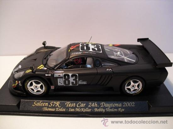 Slot Cars: -FLY-SALEEN S7R - TEST CAR 24h - daytona AÑO 2002-negro mate- - Foto 2 - 30709556