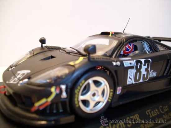 Slot Cars: -FLY-SALEEN S7R - TEST CAR 24h - daytona AÑO 2002-negro mate- - Foto 7 - 30709556