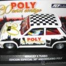 Slot Cars: OFERTA ULTIMAS UNIDADES. E-1202 - RENAULT 5 TURBO EDICION ESPECIAL POLY DE FLY. Lote 35504026