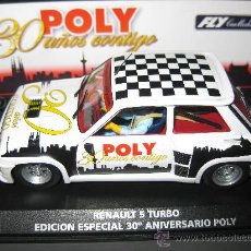 Slot Cars: E-1202 - RENAULT 5 TURBO EDICION ESPECIAL POLY DE FLY. Lote 35504026