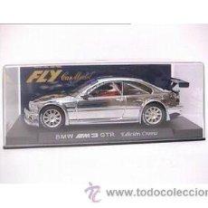 Slot Cars: BMW M3 GTR EDICIÓN CROMO E281. Lote 30754944