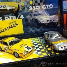 Slot Cars: FERRARI 250 GTO Y 365 GTB/4 DE FLY. Lote 31025011