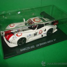 Slot Cars: MARCOS 600 LM BRANDS HATCH REF. A-23 DE FLY DESCATALOGADISIMO ! . Lote 31648538