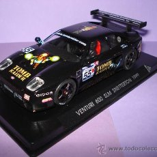 Slot Cars: VENTURI 600 SLM SNETTERTON 1999 TOMB RAIDER REF. DE FLY DESCATALOGADISIMO.. Lote 31672464